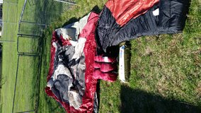 Family tent, sleeping bags in Bolling AFB, DC
