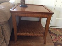 End table & matching console table in San Diego, California