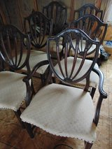 6 Duncan Phyfe Antique Chairs and Table in Naperville, Illinois