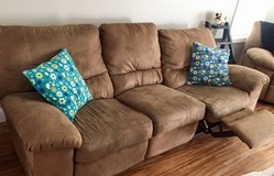 Reclining Loveseat and Couch in Cherry Point, North Carolina