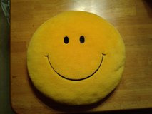 Smiley-Face Throw Pillows in Aurora, Illinois