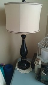 Table Lamp with shade and extra shade in DeKalb, Illinois