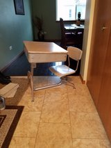School desk with built in chair in Chicago, Illinois
