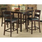 Dining set with bar/counter height table and 4 chairs in Fort Irwin, California