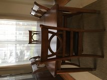 Ashley dining table with 6 chairs in Great Lakes, Illinois