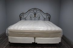 King Bed Frame and Mattress in CyFair, Texas