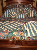 Rose Tree Home- King Size Bedding 12 piece Set--Like New! in Cincinnati, Ohio