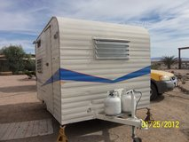 Again reduced....Vintage camping trailer, 1948, 10 ft. All cleaned up, ready for your decorator ... in 29 Palms, California