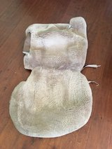 Reduced! GM Sheepskin Front Seat Covers in Alamogordo, New Mexico
