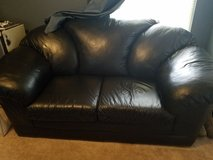 Leather couch in Hinesville, Georgia
