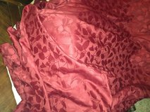 Red/burgundy black out curtains--Home by Target in Bolling AFB, DC