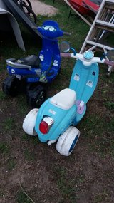 Scooter in Fort Riley, Kansas