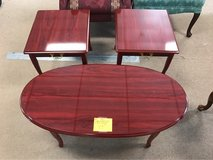 New Queen Anne Coffee & End Tables (999) in Camp Lejeune, North Carolina