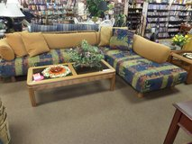 COUCH 2 piece sectional - UNIQUE in Cherry Point, North Carolina