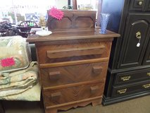 Old cypress Dresser and scarf box in Cherry Point, North Carolina
