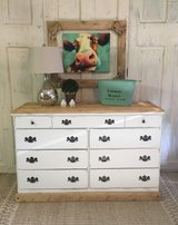 Distressed White Dresser in Kingwood, Texas