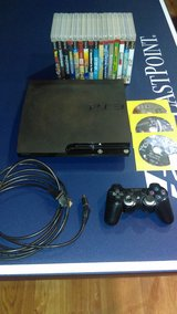 (PS3) Playstation 3 Slim w/ Games in Fort Lewis, Washington