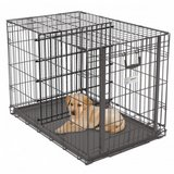 Large wire pet crate (collapsible and transportable) in Belleville, Illinois