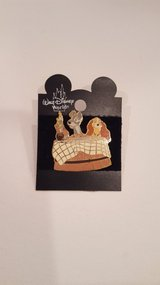 Disney Lady and the Tramp Pin in Naperville, Illinois