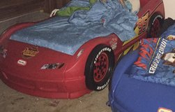 Cars toddler bed red in Hinesville, Georgia