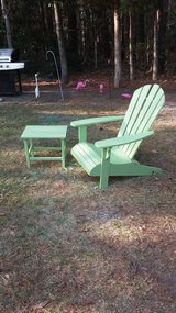 Adirondack chair with Table in Camp Lejeune, North Carolina