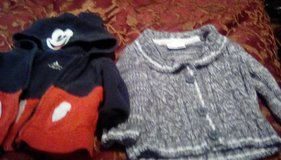 Toddler boy's sweaters (two) in Ramstein, Germany