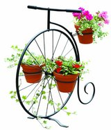 new flower bicycle in Ramstein, Germany