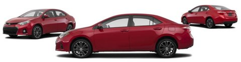 Brand New and Now Further Reduced by $2250! 2016 Toyota Corolla  S Plus 4dr Sedan Manual in Stuttgart, GE