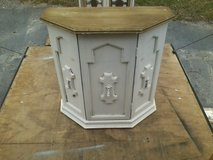 Chalk painted Credenza / TV stand in Camp Lejeune, North Carolina