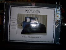 RETRO BETTY Full/queen Duvet Set by B. Vintage NEW in Kissimmee, Florida