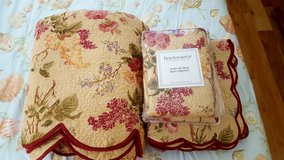 New Floral King Quilt Set & Accesories in Beaufort, South Carolina