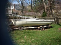 18 foot Chrysler Mutiner Fiberglass Sailboat in Naperville, Illinois