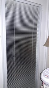 French Door Blinds behind glass in Lawton, Oklahoma