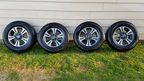 NEW!!!! Toyota TRD 17 inch Tires and Alloy Wheels with TPMS sensors-- GREAT DEAL! in Hill AFB, UT