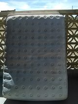 Queen size bed mattress and box spring pillow top in Barstow, California