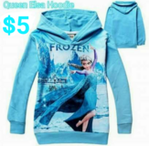 Size 2T ELSA HOODIE * NEW WITH TAG! in Fort Benning, Georgia