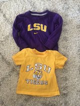 Two LSU Shirts Size Toddler 2T in Kingwood, Texas