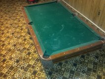 Pool table project in Perry, Georgia