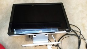 """HP W1907 19"""" Widescreen LCD Monitor w/ DVI, Audio, & Power Cables in Warner Robins, Georgia"""