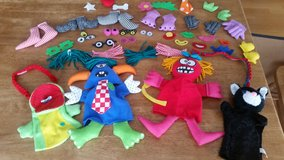 Puppet Set W/ Interchangeable Pieces in Hopkinsville, Kentucky