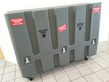 Rugged Large TV/Display wheeled shipping case in San Diego, California