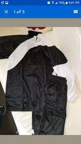 New jogging warm up suites..large in Lockport, Illinois