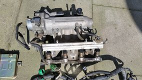 Honda Civic, Del Sol OEM intake manifold with ECU, Wire Harness and injectors EX Si SOHC D16z6 in Ramstein, Germany