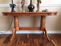 All Wood Double pedestal accent table in Macon, Georgia