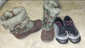 Girls shoes size 9 & 11 in Houston, Texas