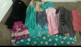 Girls clothes lot size 10/12 & 12/14 in Houston, Texas