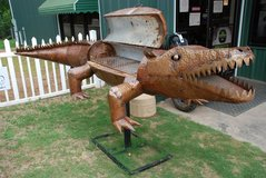 Custom Gator-shaped Grill in Warner Robins, Georgia
