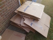Lots of moving boxes in Lakenheath, UK