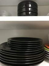 Dishes in Camp Pendleton, California