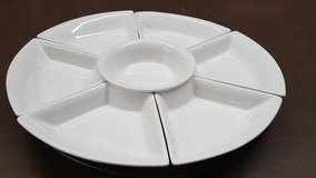 """Food Network 8 PC Lazy Susan Server 20"""" in Houston, Texas"""